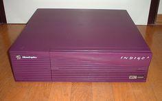 Silicon Graphics Indigo 2 purple