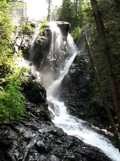 BEEN THERE - Hiked to Pine Creek falls in Montana. Beautiful in person!! Be warned the hike to the top of the mountain (if you go all the way) will kick your butt!!!