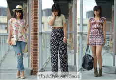 Grab California Cool searsStyle this Spring! We love how fun and comfy all these options are! #ThisisStyle #shop