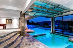 Indoor Outdoor Heated Swimming Pool at 6269 St Georges Cr in West Vancouver, BC. Proudly Offered for $6,388,000.