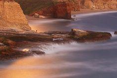 Night Shooter - Hole in the Wall Beach, Santa Cruz, California by PatrickSmithPhotography, via Flickr