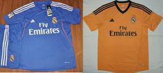 Camisa reserva e camisa 3 do Real Madrid 2013-2014