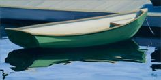 Sail away in a green dinghy