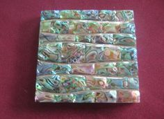 paua abalone accent tile...gorgeous
