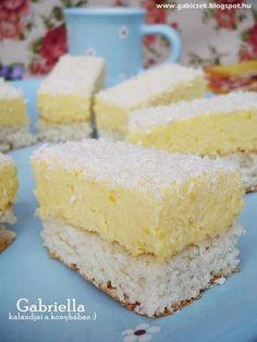 Gabriella kalandjai a konyhában :) Vanilla Cake, Deserts, Food And Drink, Sweets, Baking, Recipes, Diy, Pineapple, Cooking