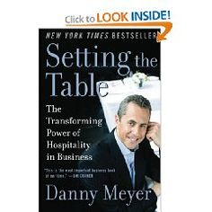 Danny Meyer is an entrepreneur who has managed to create success after success in the notoriously difficult restaurant business. Setting the Table: The Transforming Power of Hospitality in Business offers an inspirational, behind the scenes history from one of the true masters of service.