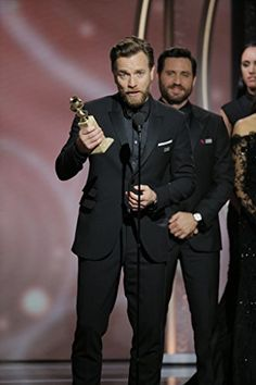 Ewan McGregor at an event for The 75th Golden Globe Awards (2018)