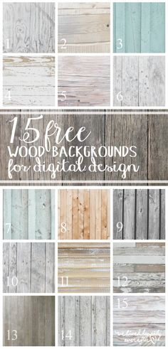 Free Wood Textures for Digital Design