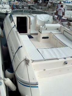 Fiart 27 cabin lung. 9,00 -  larg. 2,8   anno #1995  motori  2x135 Volvo penta turbo #diesel  lancetta #allungata ... #annunci #nautica #barche #ilnavigatore