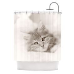 Fashionista Cat Shower Curtain Fashion Girl Bathroom Decor Woman Chic Kids  Bath Paris Leash Pet Shopping Shop On Etsy, $68.99 | HOME/THINGS I WANT ...