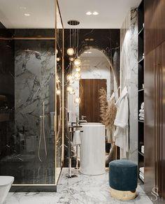 Home Decoration Inspiration .Home Decoration Inspiration Luxury Home Decor, Luxury Interior, Luxury Homes, Bad Inspiration, Bathroom Inspiration, Bathroom Ideas, Interior Design Studio, Home Design, Cabin Design