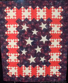 Quilted in Honor free pattern