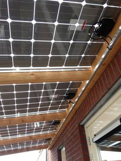 Innovosolar Sunhouse zonnepaneel serre