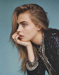 """vogueweekend:  """"The Face"""", Cara Delevingne photographed by Alasdair McLellan in Vogue UK January 2014"""