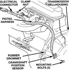 23 best jeep tj parts diagrams images diagram jeep parts jeep stuff 2001 Ford Ranger Parts Diagram camshaft position sensor write up jeepforum jeep zj jeep wrangler rubicon