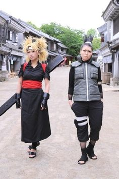 Temari and Shikamaru From Naruto.