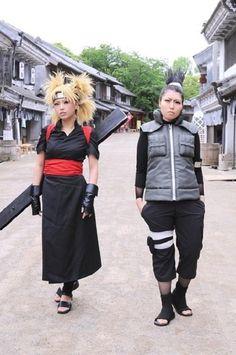 Temari and Shikamaru From Naruto.
