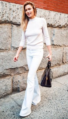 outfits with white jeans for women 2015