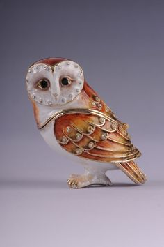 FABERGE OWL by shopgalilee on Etsy, $48.25