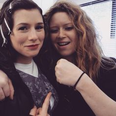 Orange is the New Black: Yael Stone and Natasha Lyonne