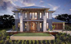 Franklin Resort Facade 1, New Home Designs - Metricon