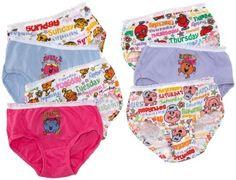 Little Miss Underwear 7-Pack on www.amightygirl.com