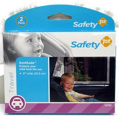 "Safety 1st 2-Pack Sunshade - Safety 1st - Toys ""R"" Us"