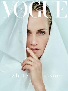 Amber Valletta is the Cover Girl of Vogue Ukraine April 2017 Issue