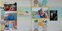 """Daddy and Me"" by Lisa, as seen in the Club CK Idea Galleries. #scrapbook #scrapbooking #creatingkeepsakes"