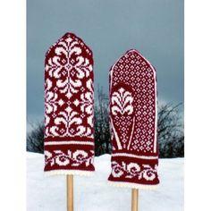 Ravelry: Elise mitten pattern by Johanne Landin Mittens Pattern, Knit Mittens, Knitted Gloves, Knitting Socks, Hand Knitting, Fingerless Mittens, Knitting Wool, Knitting Machine, Vintage Knitting