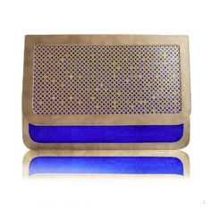 Crystal Shoulder Bag - gold   blue by Poupee Couture #winboticca
