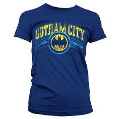 Batman Gotham City Koszulka Damska
