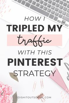 The Strategy That Tripled My Traffic Facebook Marketing, Business Marketing, Business Tips, Content Marketing, Online Marketing, Social Media Marketing, Business Education, Ideas For Business, Business Planning