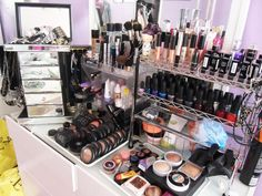 My Makeup & Nail Polish Collection Almost Looks Like This...Give Me Another Few Months It'll Be!