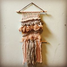 #weaving #wallart Aimee M @aimpsych Instagram photos | Websta