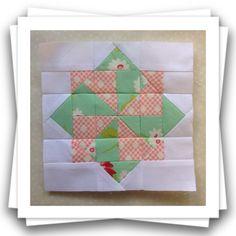 Threadbare Creations- Chatelaine Free BOW Sampler Quilt Block 74