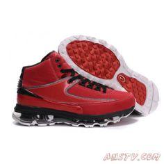 online store fabb1 cc29b Nike Air Max Jordan Retro 2 Rouge Noir Pas Cher Air Jordan Homme