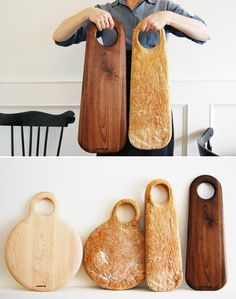 Geoffrey Lilge's Wood cutting and serving boards