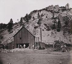 Quartz Mill, Silver Mountain, Alpine County. Pinned by www.CaliforniasHarvest.com