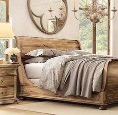 Interior Sleigh Bed Bedding heritage court king size bed with leather upholstered sleigh bed