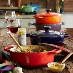 Le Creuset Marseille Round Wide French Oven at Sur La Table