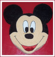 mickey head cakes | 12 inch Mickey Mouse head with 6 inch ears.