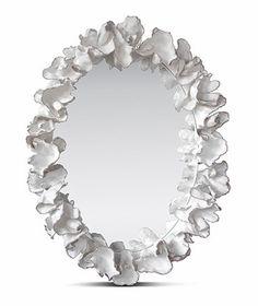 Leaf coral mirror