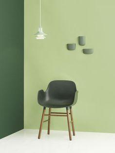 Form / Stuhlbeine aus Eiche   Normann Copenhagen   Sessel