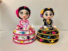 Muñeca mini traje regional de chiapas, amigurumis by Petus - YouTube Regional, Security Blanket, Crochet Videos, Amigurumi Doll, Mini, Dolls, Children, Birthday, Youtube