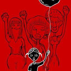 Damon Davis - For Black Girls, Print