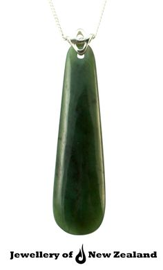 New Zealand jade(green stone/pounamu) with 18 k gold  It signify knowledge,confidence and independence