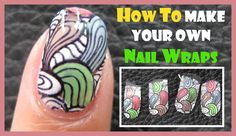 Hi Everyone, In Today's video I am going to show you how to create your own nail wraps. Or nail stickers. I have already done a freehand version which I will...