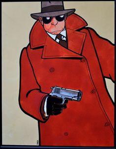 Tardi, Griffu par Jacques Tardi - Illustration