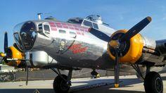 "B-17G ""Fuddy Duddy"" from starboard."
